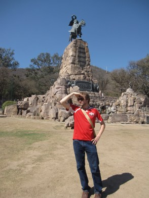 Isaiah in Salta, Argentina