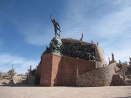 Independence Statue in Humahuaca, Argentina