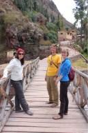 Walk through Ollantaytambo, Peru in Sacred Valley