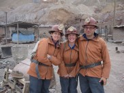 Mine tour in Potosi, Bolivia