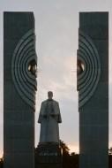 Denkmal für Igor Wassiljewitsch Kurtschatow in Tscheljabinsk