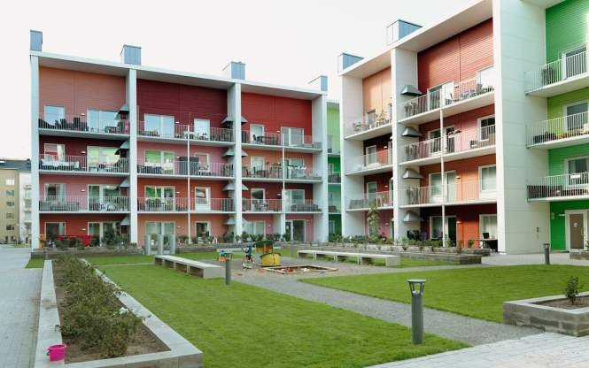 Prefabricated Wooden Apartments