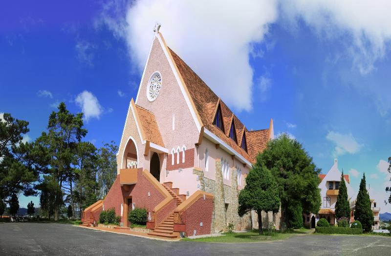Da Lat church, Da Lat, Vietnam
