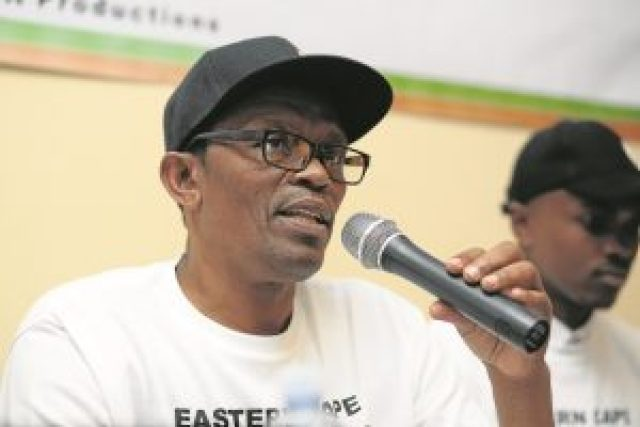 MAN BEHIND THE MUSIC: Well-known East London businessman, former kwaito star and founder of the Eastern Cape Music Awards Koko Godlo has announced the nominee list for the awards Picture: MARK ANDREWS/DAILY DISPATCH