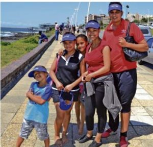 LIFE IS SWEET:  Diabetes  sufferers, families and the community will this weekend again take part in East London branch of  Diabetes  SA's fun  walk  on the Esplanade. Matthew Ruiters, 5, Esethu Gaehler,14, Katelyn Ruiters,10, Anneline Cochrain and Rowan Ruiters had great fun taking part in last year's event. The fun  walk /run will be held as part of the group's World  Diabetes  Day celebrations Picture: FILE