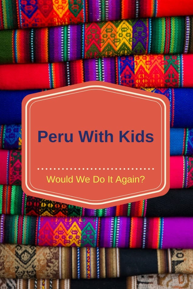 We spent a week in Peru with our three kids and had a wonderful time. We explored Lima, Cusco, the Sacred Valley and Machu PIcchu. We rode horses, made pottery, shopped in local markets, and of course, explored amazing Inca Ruins. Which are you going to do first? #travel #familytravel #travelwithkids #Peru #MachuPicchu #SouthAmerica |Aguas Calientes, alpaca, child, horseback riding, llama, magic water tour, Miraflores, Pisac, Sacsayhuaman, teen|