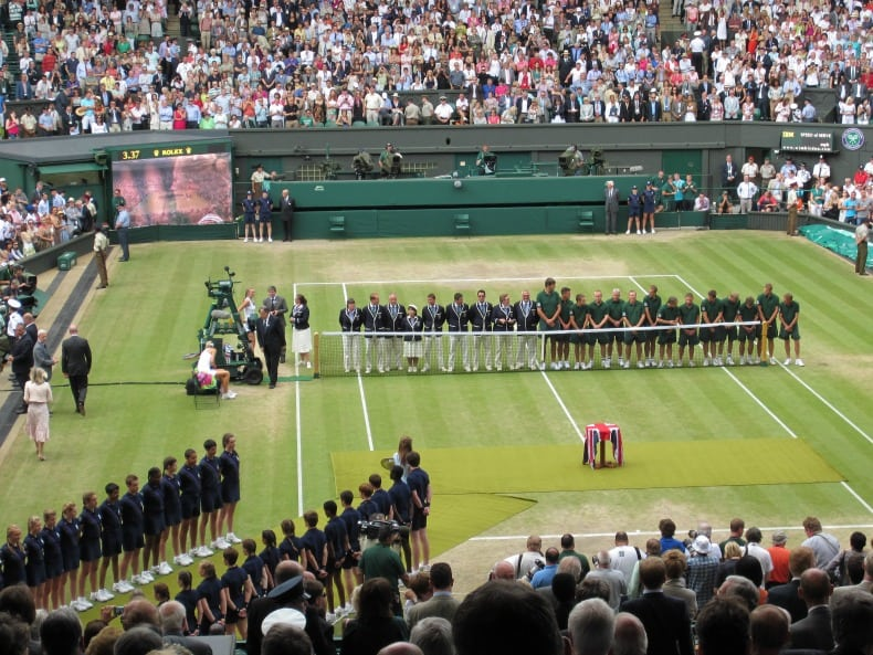 award-wimbledon women's final and wembley stadium