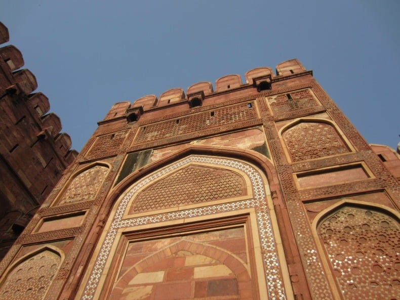 A visit to the Agra Fort in India was amazing.