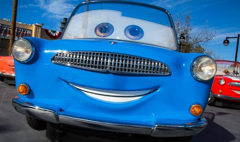 Cars Land at Disney California Adventure, an amusement park.