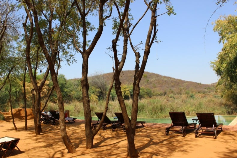 Sher bagh for a Ranthambore Safari in India