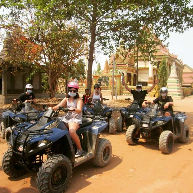 ATV tour outside Siem Reap