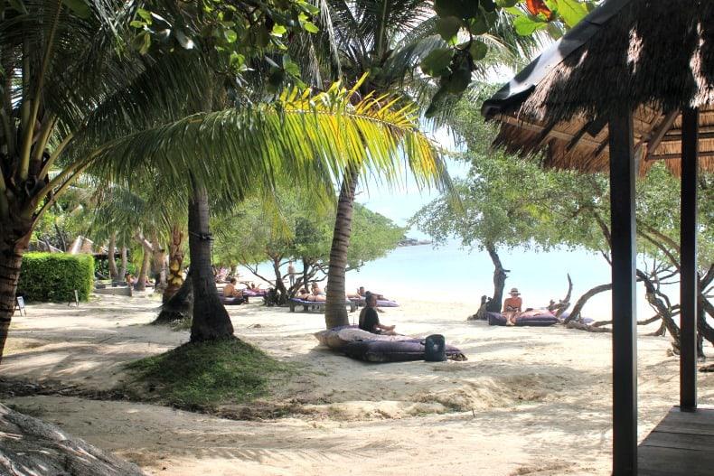 Leela beach on Koh Phangan