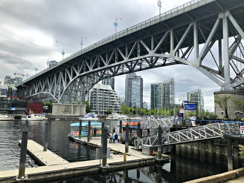 Aquabus Station at Granville Island