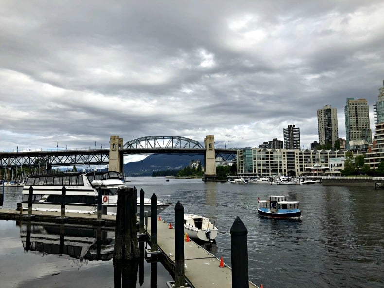 Burrard Inlet at Granville Island