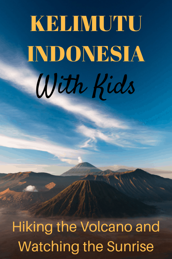 Our family hiked to the peak of Kelimutu Volcano to watch a breathtaking sunrise. Later, we visited several remote villages where few have gone before and learned about unique customs hundreds of years old. It was amazing! #travel #familytravel #Asia #responsibletravel | ceremonial hut, craters, Ende, Flores, ikats, Jopu Village, Kelimutu Crater Lakes Ecolodge, lakes, Moni, Nuamuri Village, peak, weaving, Wologai Village