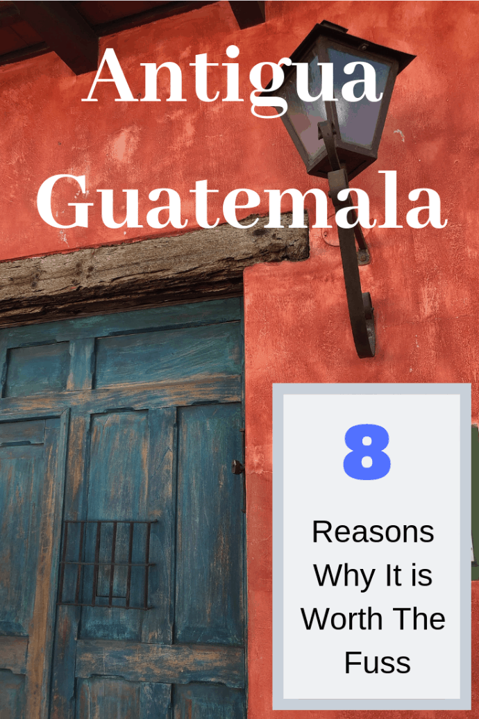 Antigua Guatemala is a beautifully preserved colonial city in Guatemala that is surrounded by stunning natural beauty. It offers lovely hotels, delicious restaurants, and fantastic daily activities to keep every traveller interested and excited. Here are 8 reasons why visiting Antigua is worth the fuss. #travel #familytravel #Guatemala | Aurora, Bistro Cinq, Chichicastenango, Flores, Guatemala, Lake Atitlan, Las Antorchas, Pacaya Volcano, Posada del Angel, Sin Fronteras, Tikkal|