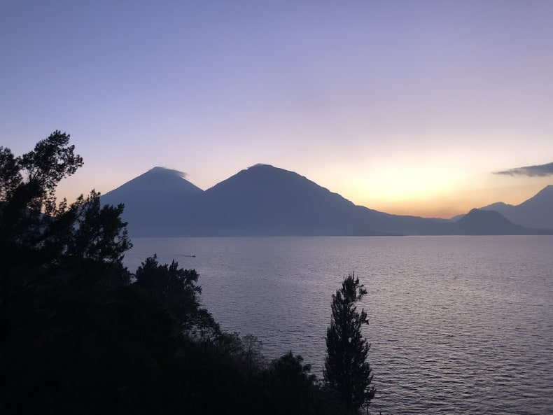 Lake Attitlan Guatemala