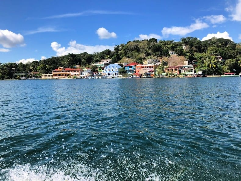 Lake Peten Guatemala