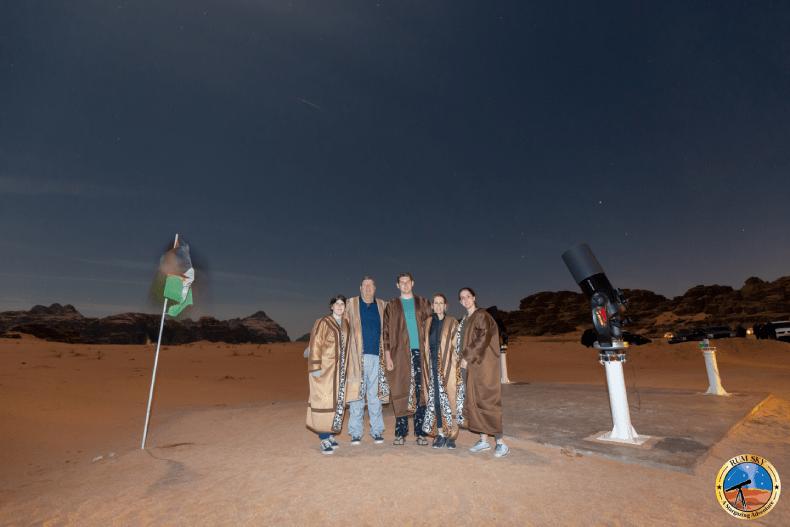 Wadi rum star gazing show
