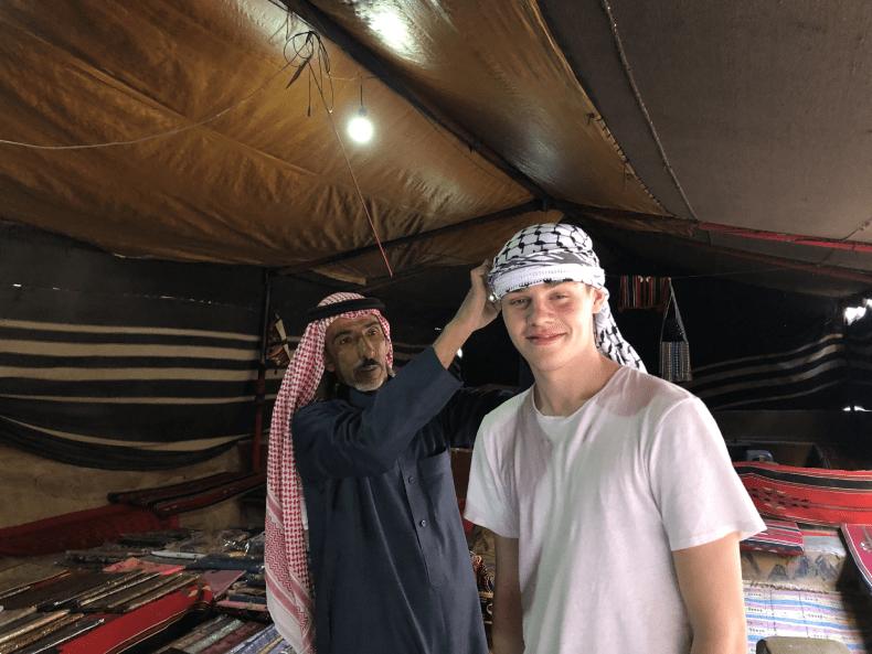Wadi rum bedouin camp