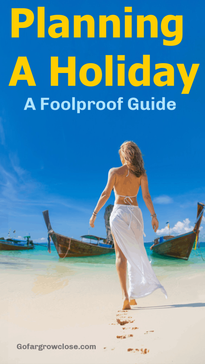 After 45 years of travel to over 60 countries, I know a thing or two about planning and booking a trip so that I get exactly what I want for the price that I believe is reasonable. Find out how! #travel, #familytravel #traveltips, #planningaholiday, creating a holiday itinerary, holiday planning guide, holiday planning checklist, family travel tips, how to save time and money, mistakes to avoid, stress-free trip planning, perfect itinerary #gofargrowclose, easy vacation planning, foolproof guide