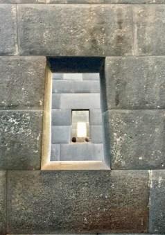 Inside the Incan Temple of the Sun, Cuzco, Peru