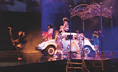 cirque beatles love drive my car