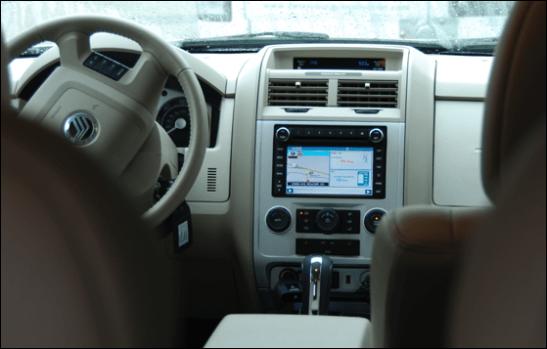 mercury mariner hybrid dashboard gps