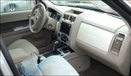 mercury mariner hybrid dashboard