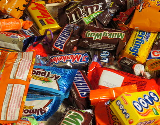 dealing with halloween candy - candy fairy - parents take candy