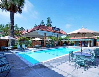 summer swimming at laguna hills lodge