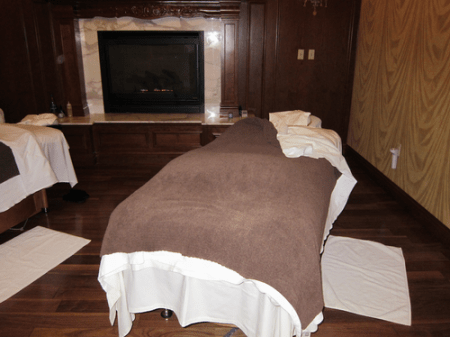 Couples Massage room at the Broadmoor Spa