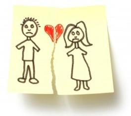 divorce / broken heart