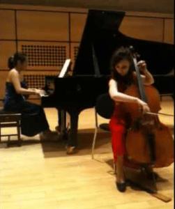 cello recital with piano
