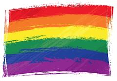 gay rights freedom rainbow flag