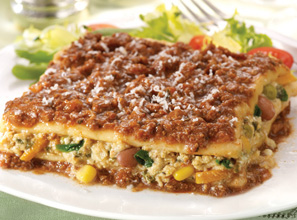 Nutrisystem Lasagna with Meat Sauce