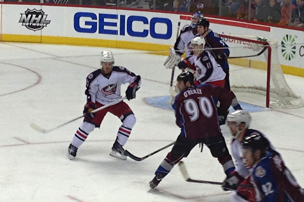 Colorado Avalanche vs Columbus Blue Jackets