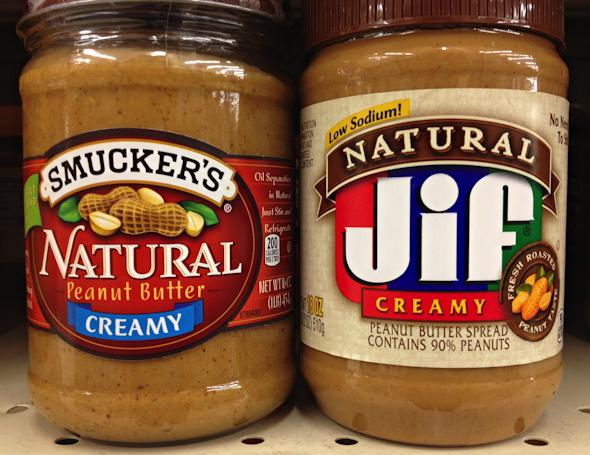 Smucker's Natural vs Natural Jif