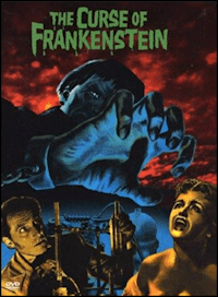 The Curse of Frankenstein one sheet poster