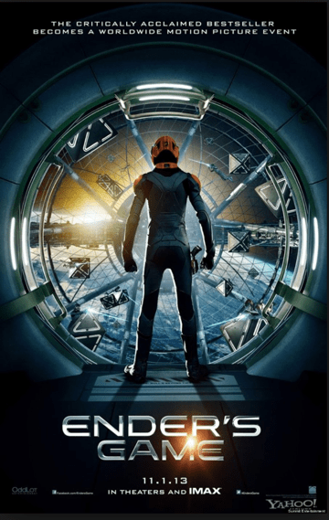 Ender's Game movie one sheet poster