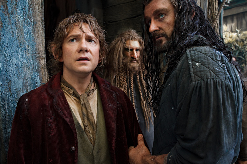 bilbo, thorin, nori from The Hobbit