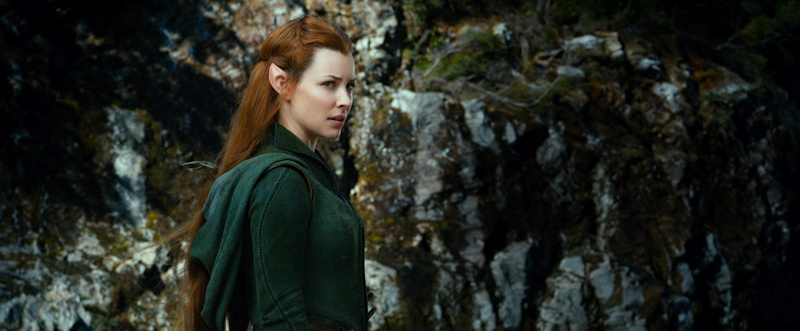 Evangeline Lilly Tauriel Hobbit Smaug