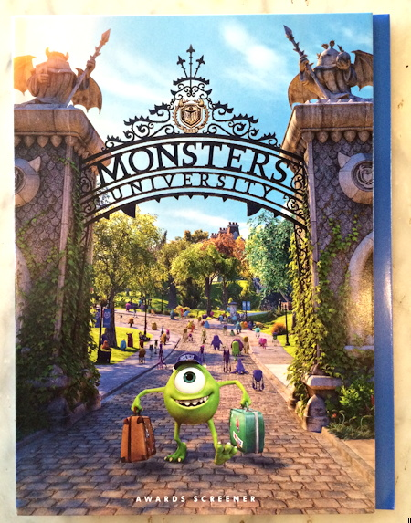 monsters university academy screener front cover