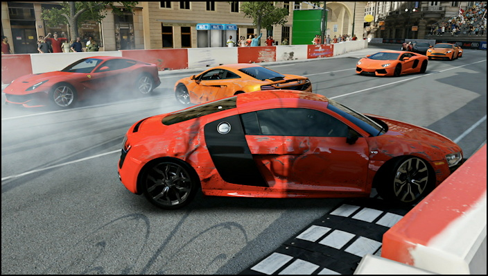 wipeout and resultant damage in forza motorsport 5
