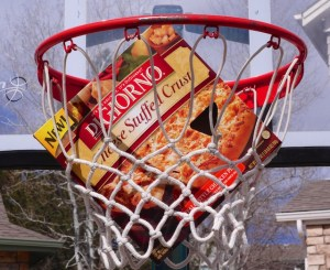 a slam dunk with digiorno pizza