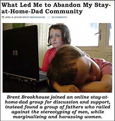 brent's harangue against stay at home dads