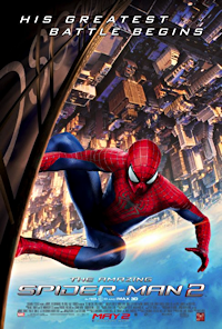 the amazing spider-man 2 one sheet poster