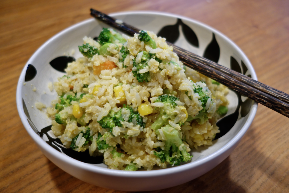 dave's quick and easy chinese fried rice from leftovers