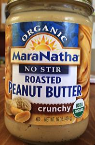 maranatha no-stir roasted peanut butter organic