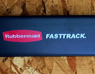 installing and using the rubbermaid fasttrack garage organizer